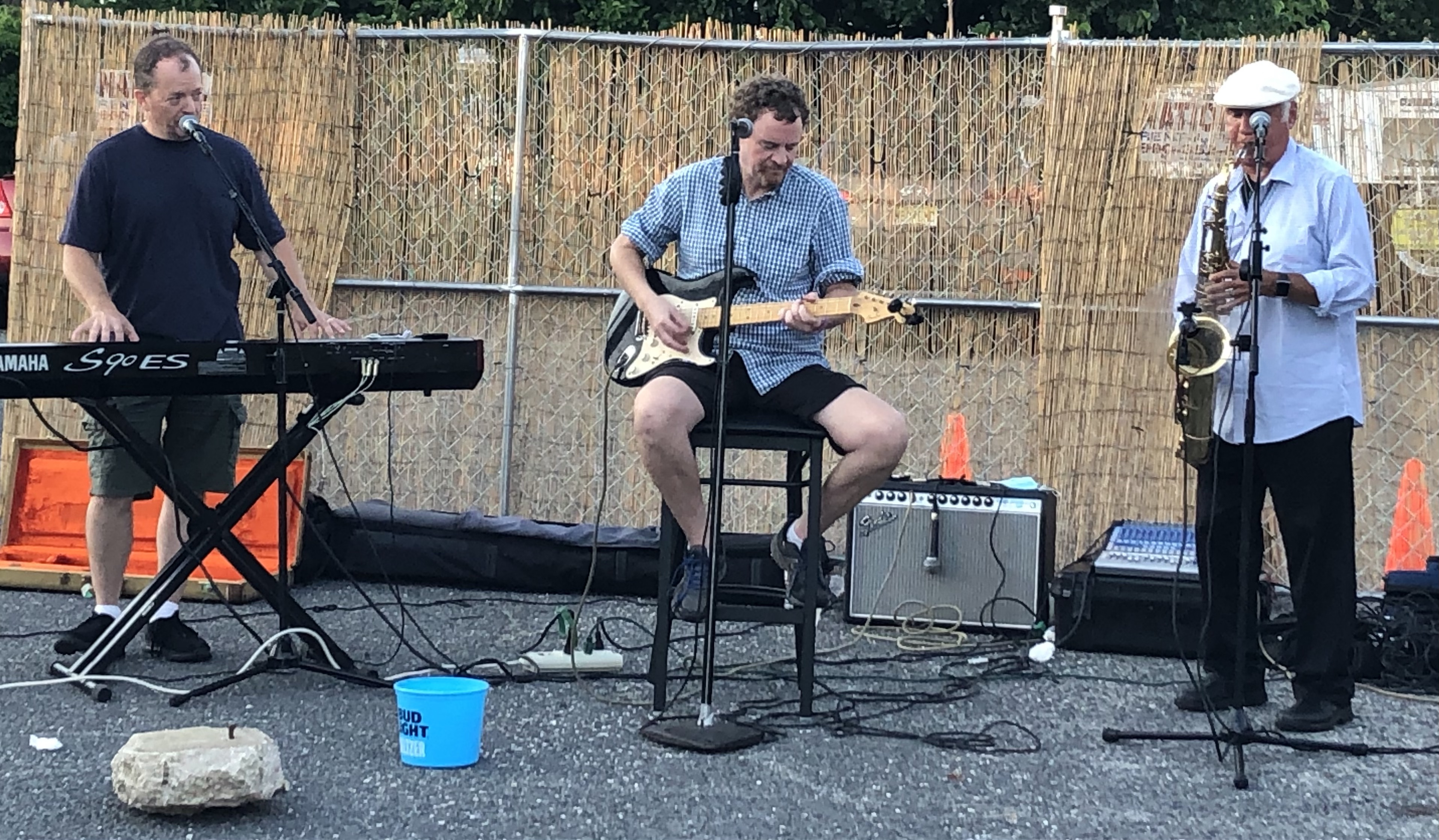 Roddy Trio Live on FB to benefit Mary's Place  By The Sea
